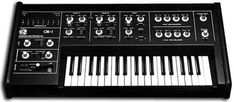 Oberheim I owned one of these! You could (sort of) save several patches and then recall them by pushing a button. Music Machine, Drum Machine, Vintage Synth, Analog Synth, Midi Keyboard, Recording Equipment, Electronic Music, Studios, Music Production