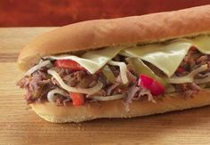 # Jersey Mike's Famous Philly (Steak or Chicken)