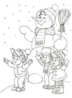 Free Printable Snowman Coloring Pages For Kids ⋆ BelarabyApps Snowman Coloring Pages, Coloring Pages Winter, Coloring Sheets For Kids, Christmas Coloring Pages, Coloring Pages To Print, Colouring Pages, Free Coloring, Coloring Pages For Kids, Coloring Books