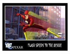 Community Post: Pixar Style Superheroes And Supervillains