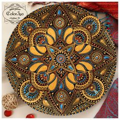 мои работы – 985 фотографий Dot Art Painting, Mandala Painting, Pottery Painting, Mandala Pattern, Mosaic Patterns, Mandala Design, Pebble Mosaic, Mosaic Art, Mosaics