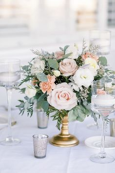 Wedding Photography Inspo | Marianne Lucas Photography & Cinematography Looking for wedding decor inspo? Here we have gorgeous fine art wedding photography inspiration of a floral arrangement at Stockdale Country Club in California decorated with creams, blushes, and greenery. #weddings #weddinginspo #weddingphotography #weddingdecor Wedding Flower Arrangements, Floral Arrangement, Flower Bouquet Wedding, Floral Wedding, Wedding Colors, Fine Art Wedding Photography, Wedding Photography Inspiration, Wedding Photoshoot, Wedding Shoot