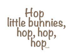 love your bunny hops Bunny Tail, Bunny Rabbit, Rabbit Hole, Beatrix Potter, Somebunny Loves You, Bunny Hutch, Hunny Bunny, Easter Parade, Peter Cottontail