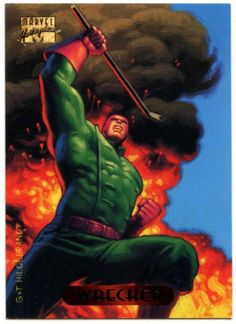 #Wrecker #138 #marvel #masterpieces 1994 trade card (c288),  View more on the LINK: 	http://www.zeppy.io/product/gb/2/291908571520/
