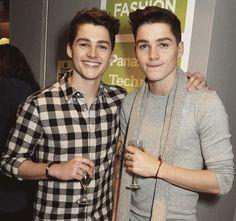 Finn Harries and Jack Harries