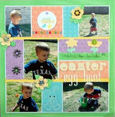 scrapbooking layouts | scrapbooking Easter layouts : Core'dinations ColorCore Cardstock ...