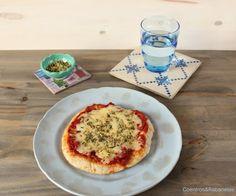 Greek-style pizza