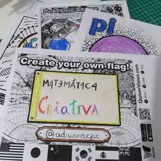 """Matemática Criativa on Instagram: """"Domingo é dia de arte, de diversão, de brincadeira!! Desta vez, usei os lápis de cores e a visualização em 3D usando os recursos…"""""""