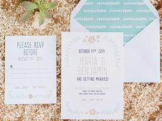 Wedding Invitation Wording: New Ideas | Photo by: Elle Photography | TheKnot.com