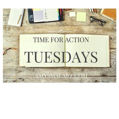 Time For Action Tuesdays: Looking back on your strategy for the week what is it you want to make time to get done that you havent already? >Each day of the week will have a theme and I will be providing intentional driven tasks to help you discover your whole self. The ultimate goal of this community is to help each and every one of you develop a focus that will give all of us a launching pad for self-discovery and development.
