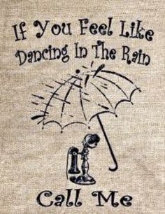 My husband and I love to walk in the rain.so when it rains and it's warm day, hell yeah I will call him Walking In The Rain, Singing In The Rain, Rainy Night, Rainy Days, Rainy Weather, Rain Quotes, I Love Rain, Under My Umbrella, Rain Umbrella