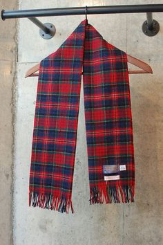 """PENDLETON""  Wool Muffler  Dead Stock  Made In  USA   From FIFTY-FIFTY 高円寺  http://f-f-koenji.tumblr.com/  #古着 #muffler"