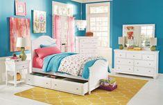 Lea Lola Twin Bed with Underbed Storage Bedroom Bed Design, Dream Bedroom, Home Bedroom, Bedroom Decor, Kids Bedroom Sets, Childrens Bedroom, Kids Rooms, Bed With Underbed, Bunk Rooms