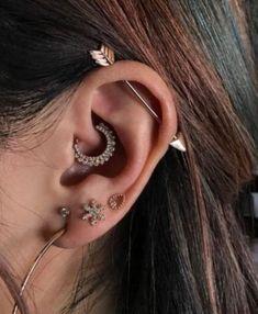 #DaithPiercing #piercings #pierced #Bodypiercing Daith Piercing, Cute piercings, Ear Piercings