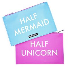 Half Unicorn Half Mermaid Bag | Spectrum Collections