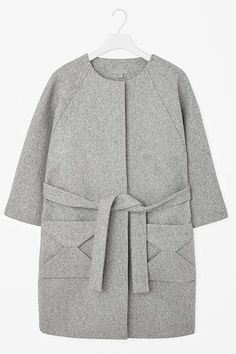 25 Flattering Winter Coats That Look Perfect On Everyone #refinery29  http://www.refinery29.com/flattering-winter-coats#slide-20  Structured and loose, belted and with origami pockets: This coat is truly a can't-lose....