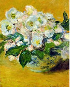 """Christmas Roses"" ・ by Claude Monet ・ Date: 1883 ・ Style: Impressionism ・ Genre: flower painting Claude Monet, Renoir, Artist Monet, Art Amour, Monet Paintings, Flower Paintings, Christmas Rose, Merry Christmas, Inspiration Art"