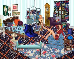 'Bedroom' by Brooke Griggs, after Laurie Simmons.