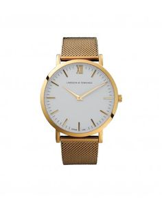 Larsson and Jennings Gold Chain Metal Watch