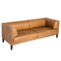 Overstock.com -  Nimbus Charme Russett Leather Sofa 15 257 SEK