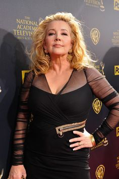 Melody Thomas Scott (born April 18, 1956) Photos: Red Carpet-Actress Melody Thomas Scott attends The 42nd Annual Daytime Emmy Awards at Warner Bros. Studios on April 26, 2015 in Burbank, California.