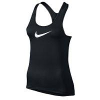 Nike Pro Cool Tank - Women's - Black / White