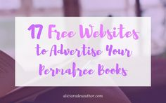 17 Free Websites to Advertise Your Permafree Books