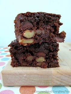 86 Calorie Brownies- Jillian Michaels Recipe.
