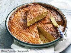 Recette Gâteau breton. Ingrédients (8 personnes) : 600 g de farine, 300 g de sucre, 300 g de beurre... - Découvrez toutes nos idées de repas et recettes sur Cuisine Actuelle