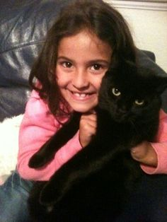 Me and my cat when i was 7