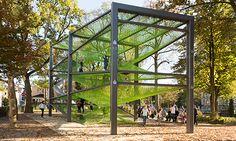 Arkitekter - Segment - Parkutrustning, Multisportarenor, Lekutrustning & Parkbänkar för lekplats - KOMPAN