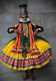 Kathakali Dancer, #Kerala