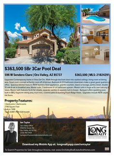 1152 fascinating oro valley homes for sale images in 2019 arizona rh pinterest com