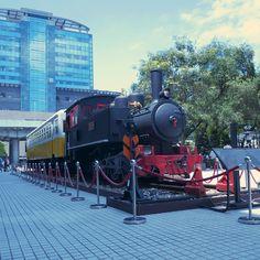 台北車站旁老車頭。Old #train besides the #railway station #InstagramYourCity for #Taipei #Taiwan #photo