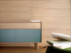 1000 images about muebles de salon comedor en madera de nogal on pinterest puertas salons - Samarkanda muebles ...