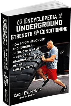 Zach Evan Esh is back and ready to kick your ass with the Encyclopedia Of Strength & Conditioning. Come check it out now and learn from one of the top trainers in the country.