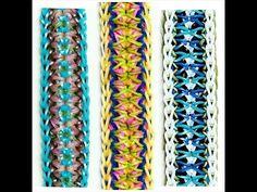 """Rainbow Loom Bracelet """"QUIVER"""" (Original Design)"""