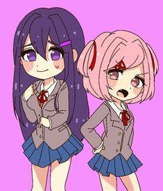 Yuri Anime, Anime Art, I Love My Girlfriend, Peer Pressure, Yandere Simulator, Literature Club, Best Games, Character Design, Old Things