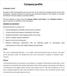 Example Of Company Profile Template Beauteous Best Powerpoint Templates  Pinterest  Company Profile Template .