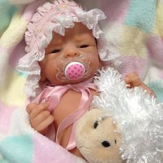 Items similar to Solid Silicone Baby Girl (Almost Full-body) on Etsy Life Like Babies, Cute Babies, Reborn Dolls, Reborn Babies, Newborn Baby Dolls, Clay Baby, Baby Doll Clothes, Collector Dolls, Beautiful Dolls