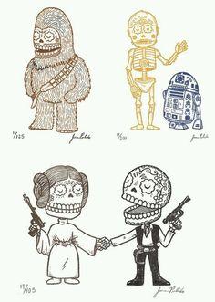 Star Wars calaverita