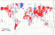 55 mapas que cambiarán completamente la forma en que ves el mundo