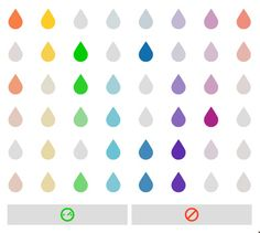 Raindrop melody Maker by lullatone: Click on the raindrops to make your own little song!