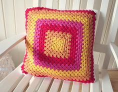 crochet pillow patterns for beginners - Google Search