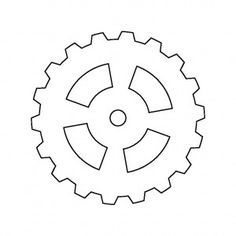 gear outline - Google Search