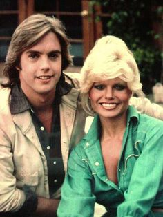 With Loni Anderson