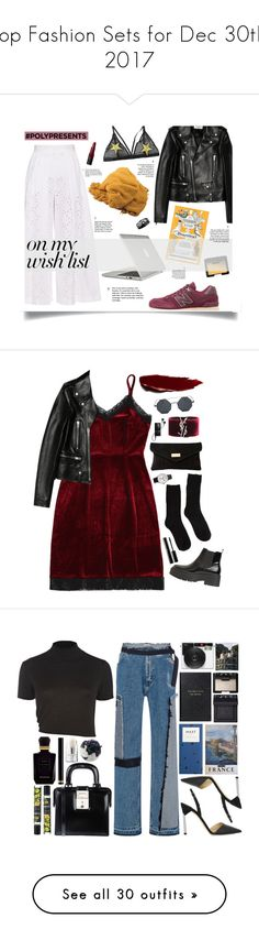 """""""Top Fashion Sets for Dec 30th, 2017"""" by polyvore ❤ liked on Polyvore featuring Yves Saint Laurent, Speck, Stella Jean, New Balance, Bobbi Brown Cosmetics, NARS Cosmetics, Chanel, contestentry, polyPresents and River Island"""