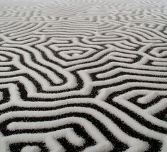 Incredible Salt Installations by Motoi Yamamoto - Design Milk :) Salt Art, Yarn Bombing, Art For Art Sake, Installation Art, Art Installations, Japanese Artists, Decor Interior Design, Art Lessons, Sculpture Art