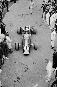 pinterest.com/fra411 #vintage #formula1 - Jim Clark - March 4th 1936 – April 7th 1968