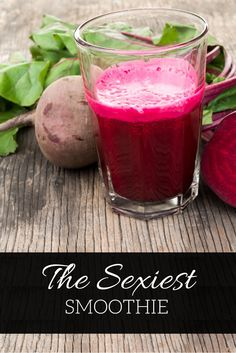 Solve performance issues with this delicious beet smoothie recipe.